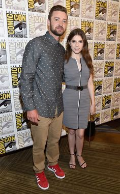 Justin Timberlake & Anna Kendrick: Comic-Con 2016: Star Sightings
