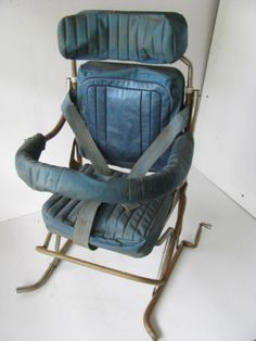 Antique-Vintage-Child-Baby-Car-Seat-Safety-Chair-Ford-Chevy-Dodge-Buick-Olds