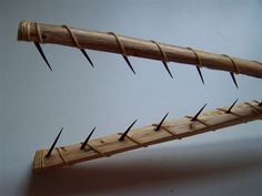 How to Make A Fishing Spear. Make your own Camping Gear Outdoors# Camping# Gear# Survival# Gear#