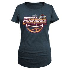 Women's New Era Navy Cleveland Cavaliers 2016 NBA Finals Champions Scoop Neck T-Shirt