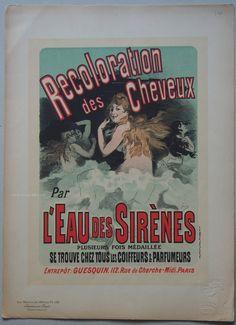 Jules Chéret - Original Stone Lithograph 1898 – Art & Vintage Store Ltd Vintage Store, Art Vintage, Vintage Prints, Vintage Advertising Posters, Vintage Advertisements, Vintage Posters, Museum Poster, Creative Poster Design, Poster Design Inspiration