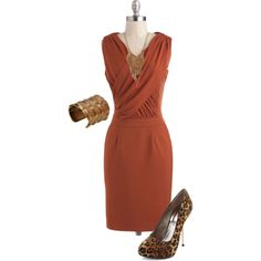 Rust & Cheetah. Like our inspiration? Visit us here: http://www.etsy.com/shop/LeVintageSloth