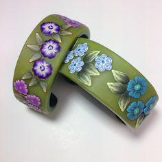 Polymer clay Bracelet by Eriko page
