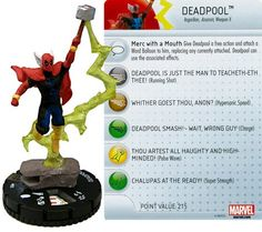 Marvel Heroclix Deadpool Deadpool #055