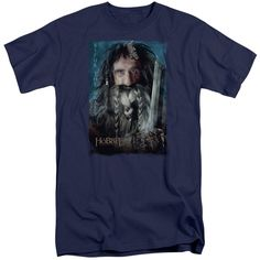 THE HOBBIT/BIFUR-S/S ADULT TALL-NAVY