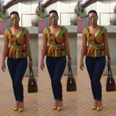 Today on WDN Stylespiration, we are featuring the lovely and trendy styles of Pokello Nare of Big Brother Africa Pokello is known for her love for fashion and she… African Tops, African Dresses For Women, African Attire, African Wear, African Women, African Style, African Clothes, African Inspired Fashion, African Print Fashion