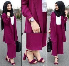 Fashion Tips For Girls .Fashion Tips For Girls Muslimah Clothing, Modest Fashion Hijab, Street Hijab Fashion, Abaya Fashion, Modest Outfits, Chic Outfits, Fashion Outfits, Fashion Hacks, Jeans Fashion