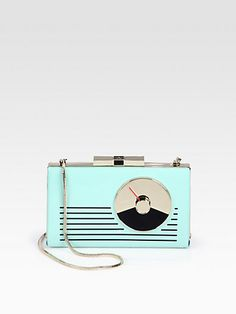 Kate Spade - Radio Patent Leather Clutch