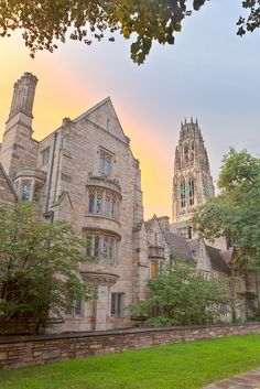 Yale - Harkness Tower, New Haven, Connecticut