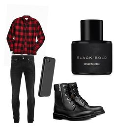 """""""hmm"""" by nagyanita on Polyvore featuring Urban Outfitters, Alexander McQueen, Just Mobile, Kenneth Cole, men's fashion and menswear"""