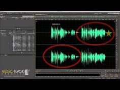 Audio Editing Secret Splicing Two Sentences Together: cut in the middle of a word instead of between two different words for a hidden edit. Mike Russell Tutorials