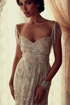 Stuff We Love - Anna Campbell Wedding Dresses 2013 | OneFabDay.com ...