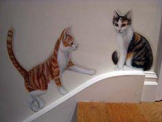 trompe l'oeil animals - Bing images