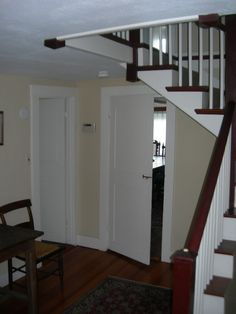 existing rear stair before renovation