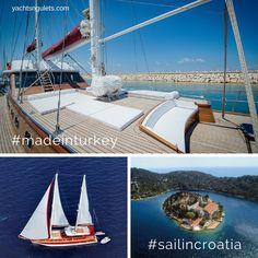 #new ! ADRIATIC HOLIDAY #gulet #madeinturkey #sailincroatia :) Sleeps  10 in 5 cabins // Inquire for availability