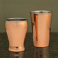Copper & Stainless Steel Drinking Mugs