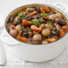 The queen of Irish cooking, Rachel Allen, shares her irresistible recipe for Beef Stew. From @BBC Food, found @EdamamCo.