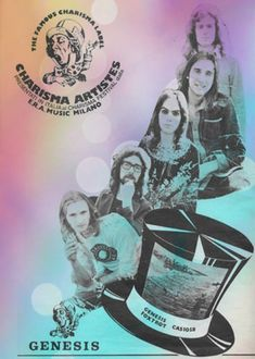 Genesis, Music Poster