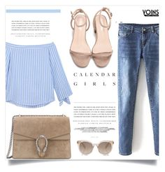 Yoins by lily1lol on Polyvore featuring polyvore, fashion, style, Gucci, Kerr®, clothing and yoins