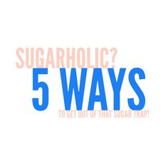 I'm a sugarholic! 5 ways to get out of that 3pm sugar trap! - Jessipes