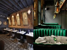 Jue Lan Club restaurant by Dutch East Design, New York City Pub Bar, Restaurant Bar, Restaurant Interior Design, Store Design, Decoration, Lighting Design, New York City, Dutch, Architecture Design