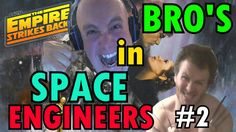 CAR FLIPPING MADNESS │Brothers in Space Engineers │The EMPIRE STRIKES BA...