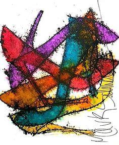 #shoes,#art,#highheels,#www.highheeledart.com $275.00 Mark Schwartz - Paintings of Shoes