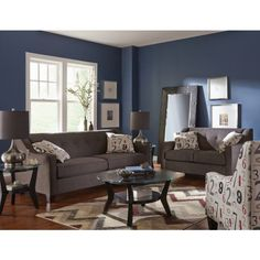 Axis Sofa Art Van Lane Reclining Warranty 6pc Queen Bedroom Set Furniture Sets Pinterest Bed And