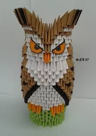 Origami / Quilling / Cardboard / Papers - corujas on Pinterest ...