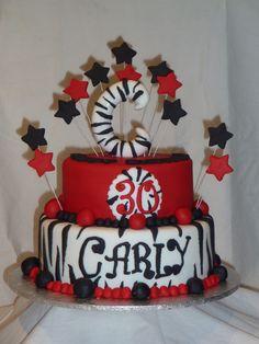30th birthday by Caketrix