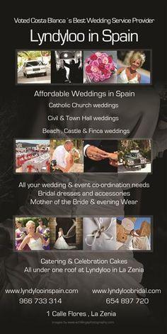 Getting married in Spain, wedding costa blanca, services, punta prima wedding, Torrevieja wedding,