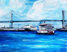 "I'm selling ""Along The Savannah River"" by Dimitri Walker - $100.00 #onselz"
