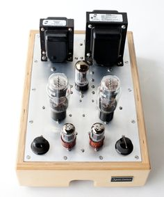 Single-ended 2A3 Stereo Tube Amp - Specimen Products, Chicago #audio #sound #hifi #audiophile