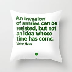 Unresistible Idea Throw Pillow by Growing Ideas - $20.00 Throw Pillows, My Favorite Things, Gift, Quotes, Shop, Ideas, Quotations, Toss Pillows, Cushions