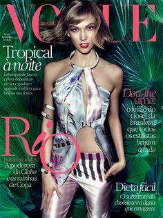 Karlie Kloss for Vogue Brazil - November 2013