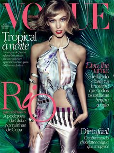 Karlie Kloss for Vogue Brazil - November 2013