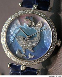 Clock Hourglass Time:  Van Cleef & Arpels Cadrans Extraordinaires Animal #Watches For 2011.