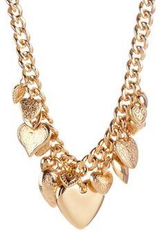 Infinity Love Necklace Good use of hearts Cute Jewelry, Gold Jewelry, Jewelery, Jewelry Ideas, Jewelry Box, Love Necklace, Fashion Necklace, Unique Necklaces, Jewelry Necklaces