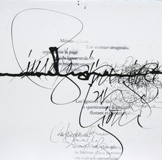 Sophie Verbeek's fragile strokes – Passion For Paper & Print Calligraphy Words, How To Write Calligraphy, Calligraphy Alphabet, Modern Calligraphy, Islamic Calligraphy, Grafik Art, Schrift Design, Writing Art, Writing Lines