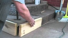 Keep Concrete Steps Looking Fresh With This Easy Fix