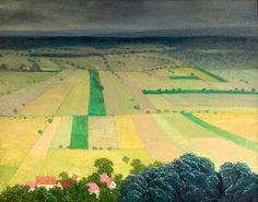 Felix Vallotton (1865-1925): Orage Venant, Les Andelys, 1916