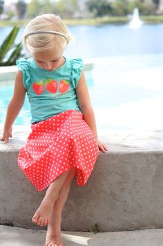 Little maxi skirt sewing pattern // Figgy's Celestial Skirt // reviewed by CailaMade