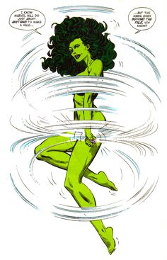 "She-Hulk by John Byrne - ""I know Marvel will do just about anything to make a sale. Marvel Women, Marvel Girls, Comics Girls, Marvel Comics, Marvel Heroes, Hulk Marvel, Marvel Comic Universe, Comics Universe, Comic Book Artists"