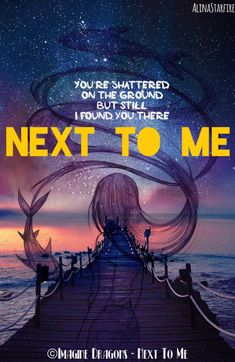 Next To Me. Lovely song from lovely people. Thanks Imagine Dragons! #imaginedragons  #song #favourite  #nexttome #beatiful