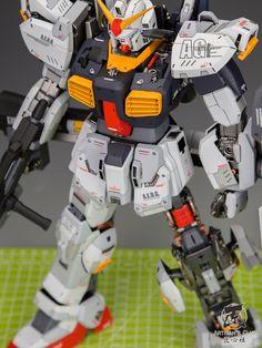 GUNDAM GUY: PG 1/60 Gundam Mk-II [AEUG] - Customized Build