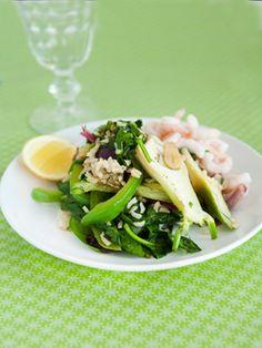 Rejer med spinat og fennikel Sund og lækker ret på under 30 minutter fra Familie Journals Slankeklub