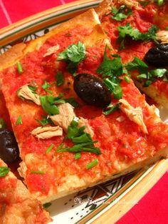 Algerian Recipes, Algerian Food, Vegetable Pizza, Bread, Vegetables, Pain, Cooking Recipes, Brioche, Natural Selection