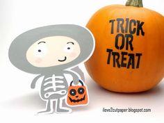 i love 2 cut paper: Trick or Treat - Halloween Dress Up