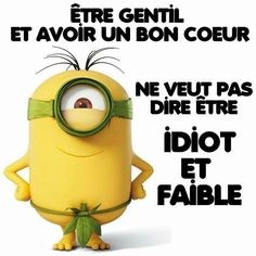 Minions Quotes, Jokes Quotes, Citation Minion, Minions Despicable Me, Positive Attitude, Life Lessons, Laughter, Messages, Frases