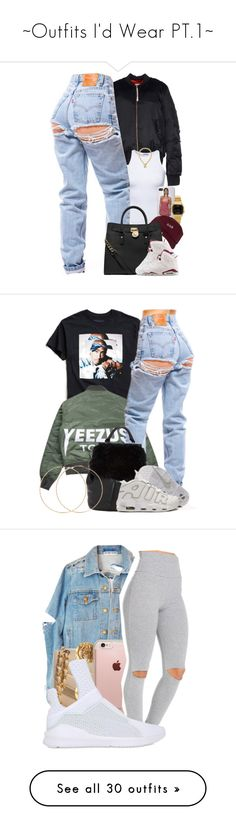 """""""~Outfits I'd Wear PT.1~"""" by shay64 ❤ liked on Polyvore featuring adidas Originals, Estradeur, Casio, The High Rise, MICHAEL Michael Kors, NIKE, Juicy Couture, Urban Outfitters, Forever 21 and Chanel"""